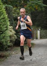 Photo: Winner of the short race was Meirionnydds Clive Edgington in 31:02