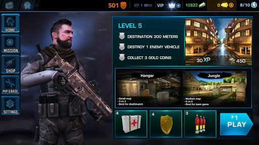 Black Battlefield Ops: Gunship Sniper Shooting 1.1.3 screenshots 4