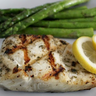 Lemon Butter Grilled Halibut Recipes