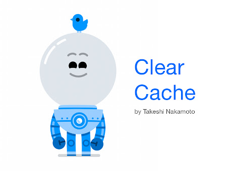 Clear history, cache and cookies for Chrome ™
