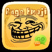 FREE-GO SMS RAGE EMOJI STICKER