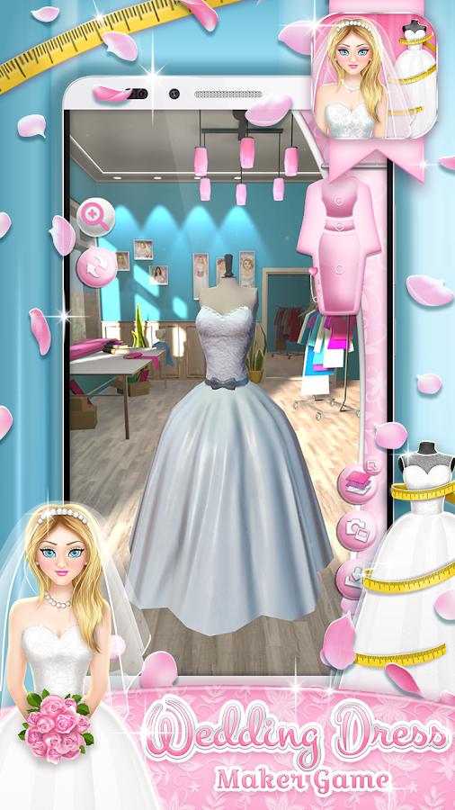 virtual wedding dress design game