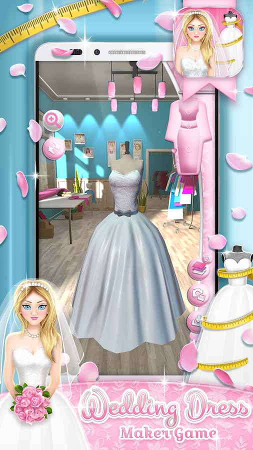 wedding dress maker game android apps on google play