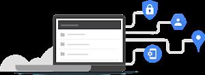 Ative o acesso baseado no contexto para o logotipo dos serviços do GCP