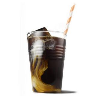 Berry Iced Coffee.
