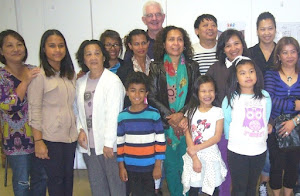 Members of the Timorese Community who assisted with our Timor Leste patients Celestina and Geovanio in Melbourne