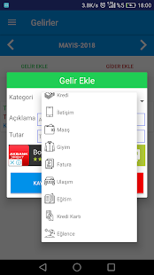 App Gelir Gider Hesabı APK for Windows Phone