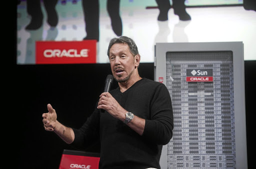 Oracle's Larry Ellison and new director of Tesla may not be quite the check Elon Musk's impulses require. Picture: REUTERS