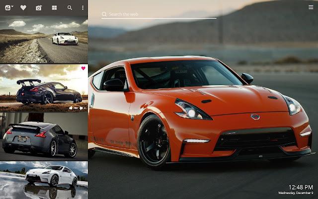 Nissan 370z Hd Wallpaper New Tab Theme