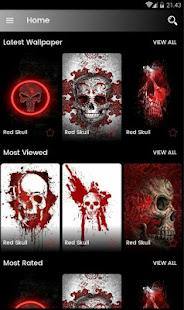 Red Skull Wallpaper HD - Apps on Google