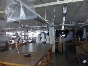 Photo: Ruimte waar de kostuums gemaakt worden