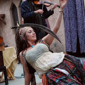 Sword dance by Skye Stevens - People Musicians & Entertainers (  )