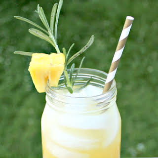 Pineapple Rosemary Cocktail.