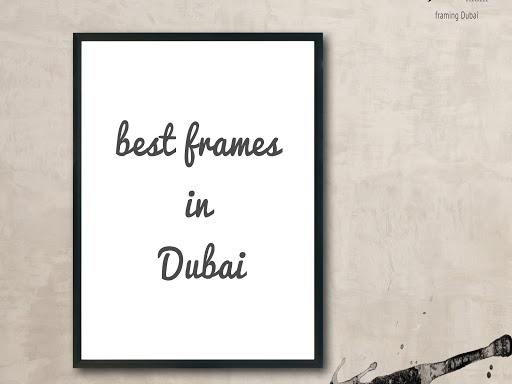 Frames in Dubai | Framing Dubai | Canvas printing Dubai - Pickframes.com