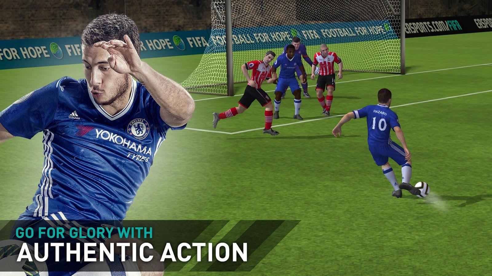 FIFA Mobile Football– captură de ecran