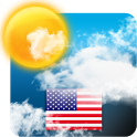 USA Weather forecast icon