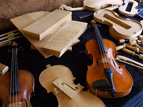 Photo: Instrument Maker's Display - La Chaise-Dieu