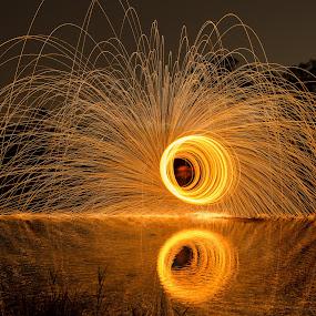by Eko Probo D Warpani - Abstract Fire & Fireworks ( steelwool,  )