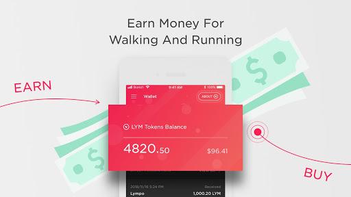 Image of Lympo - Walk. Run. Earn. 1.4.9 2