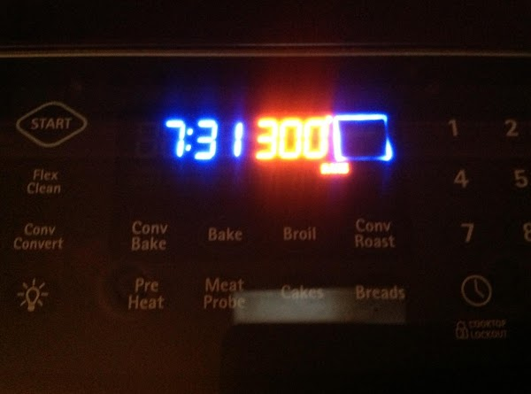 Preheat over to 300 degrees.