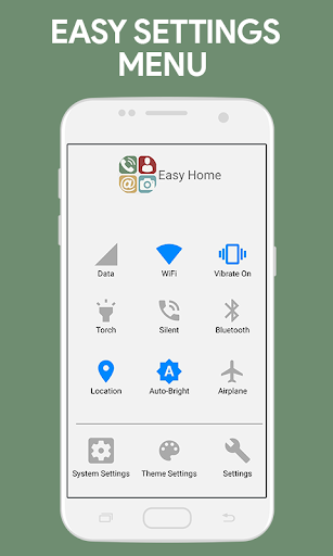 PC u7528 Simplified Home Screen - Launcher and Easy Icons 2