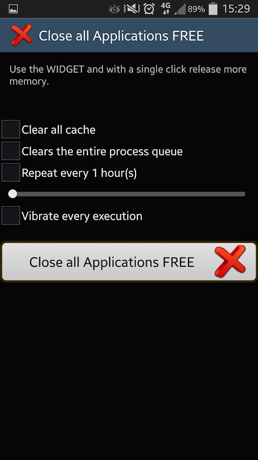 Close ALL Applications- screenshot
