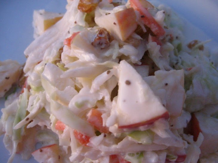 Apple and Cabbage Slaw Recipe