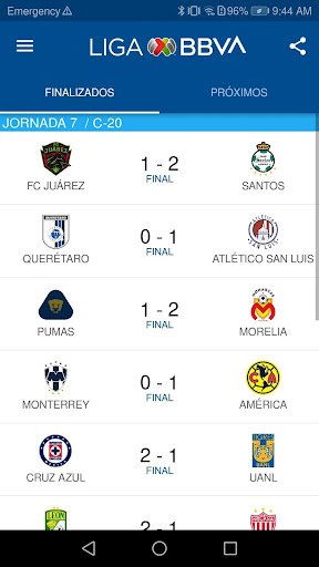 liga bbva mx app oficial screenshot 3