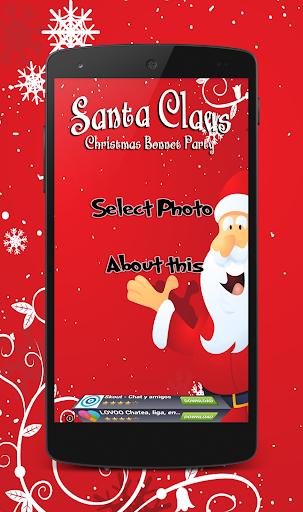 Christmas Santa Hat Selfie cam