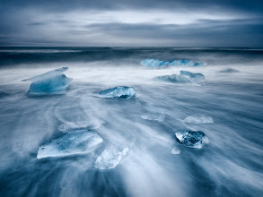 Photo: Jokulsarlon, Iceland  One of the images taken during my recent trip to Iceland near Jokularson. The place is getting truly crowded - even in November we have met surprisingly many people.  Few more comments and photos from the trip on our website:http://www.landandcolors.com/blog/4-things-to-know-about-iceland  Enjoy and share!  #landscapephotography