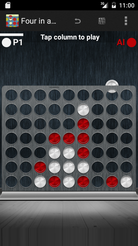 Four in a Row Puzzles- screenshot