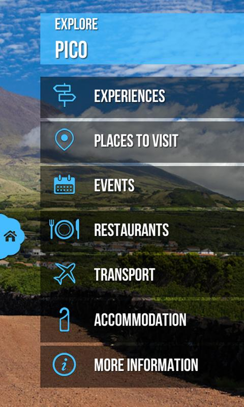 Visitazores- screenshot