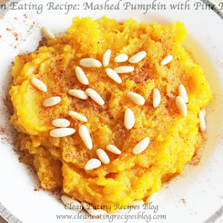 Mashed Pumpkin with Pinenuts Recipe