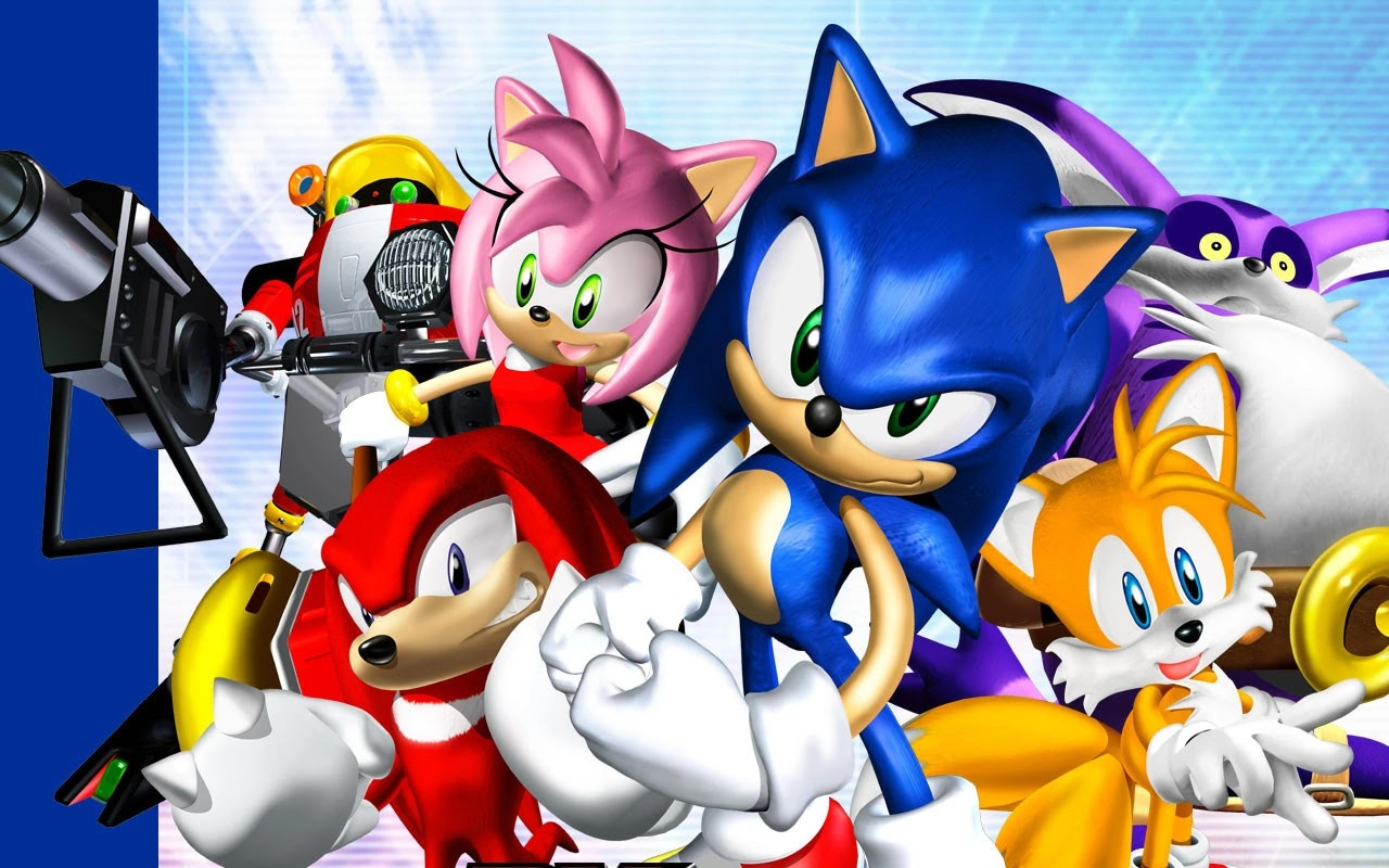 Sonic na luzie - Sonic Adventure DX #7
