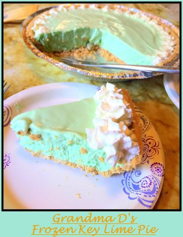 Grandma D's Frozen Key Lime Pie Recipe