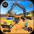 Heavy Excavator Crane Game Construction Sim 2019 APK