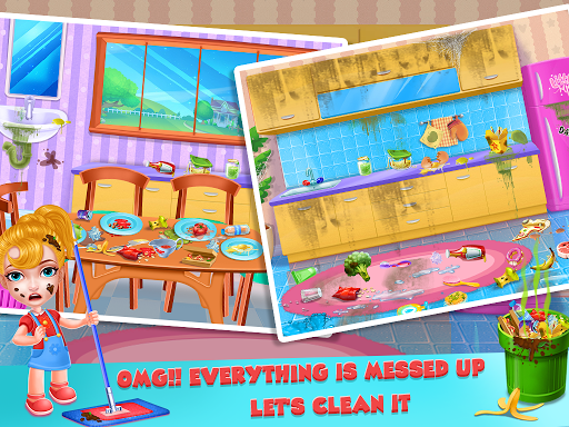 Keep Your House Clean - Girls Home Cleanup Game 1.2.4 screenshots 5