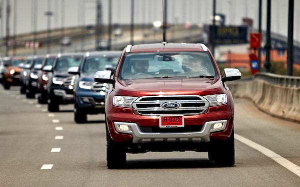 รถกระบะและ PPV จาก Ford เริ่มเป็นที่น่าเชื่อถือมากขึ้นจากผู้ใช้งาน