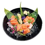 62. Large Salmon Sashimi