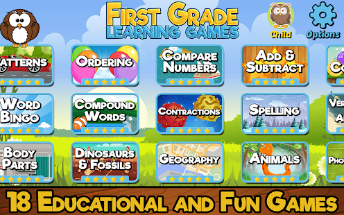First Grade Learning Games (School Edition) - náhled
