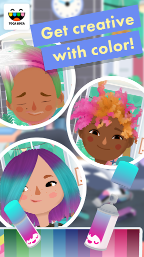 Screenshot for Toca Hair Salon 3 in Hong Kong Play Store