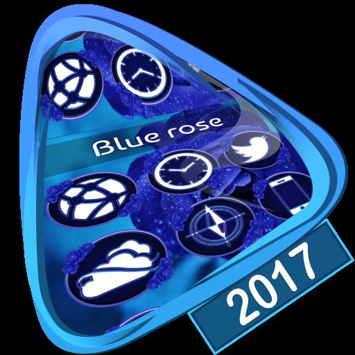 Blue rose Launcher 2017