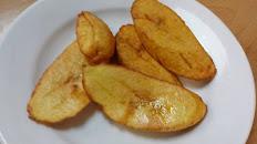 Fried sweet plantains / Maduros