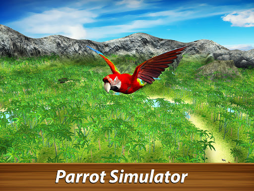 ud83dudc26 Wild Parrot Survival - jungle bird simulator! 1.2.1 screenshots 5