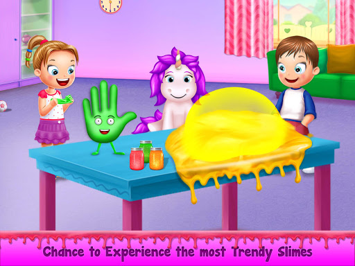 Rainbow Unicorn Slime Maker - Jelly Toy Fun 1.0 screenshots 1