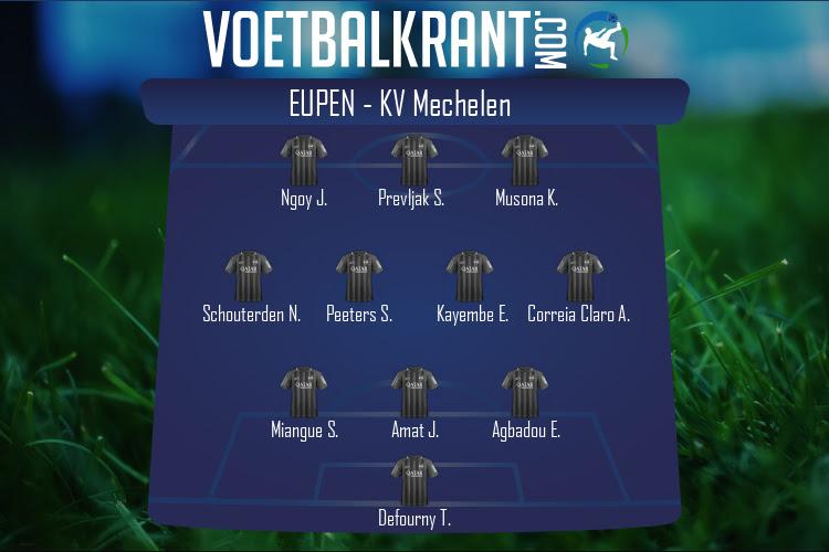Eupen (Eupen - KV Mechelen)