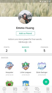 Loop - Socialize with Badges - náhled