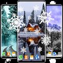 Snow Live Wallpaper ❄️ White Winter HD Wallpapers icon