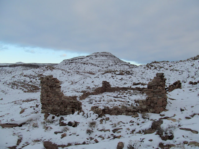 Ruined bulding at Dee Pass