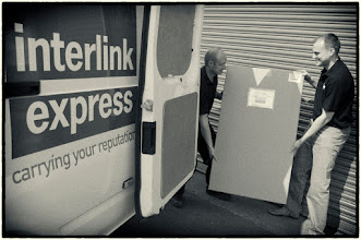 Photo: Here's woody of Interlink Express and Matt who runs the day to day issues within Chalkboards UK